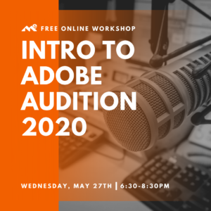 Intro to Adobe Audition 2020